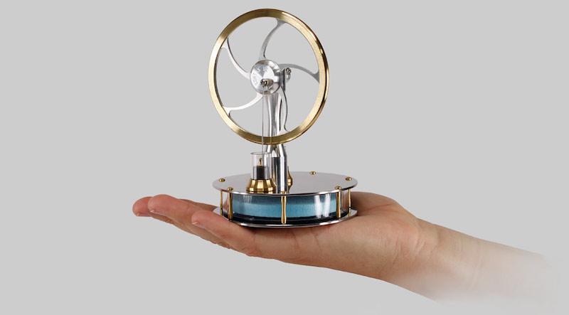 Stirling Engine Long Lasting Flywheel Model - Geartry.com