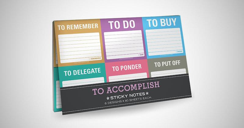 Knock Knock Sticky Notes Packet