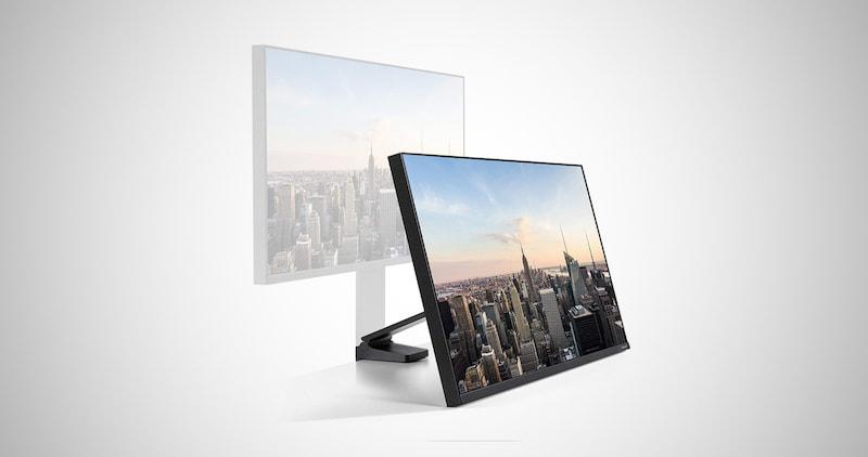 Samsung Space Bezel-less Monitor