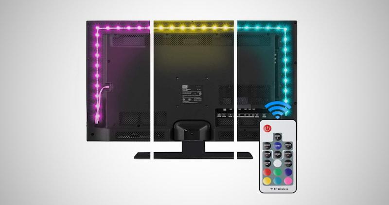 LED Strip Lights for Desktop PC, TV