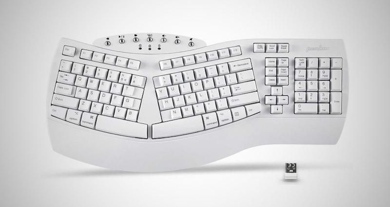 Wireless Ergonomic Split Keyboard