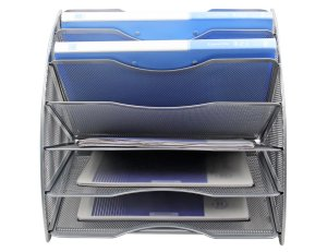 EasyPAG Fan-Shaped Desk File Organizer3