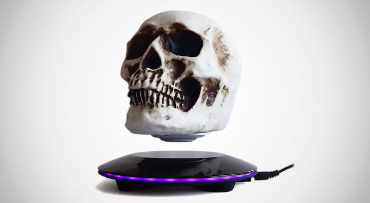 3D Levitating Skull Lamp
