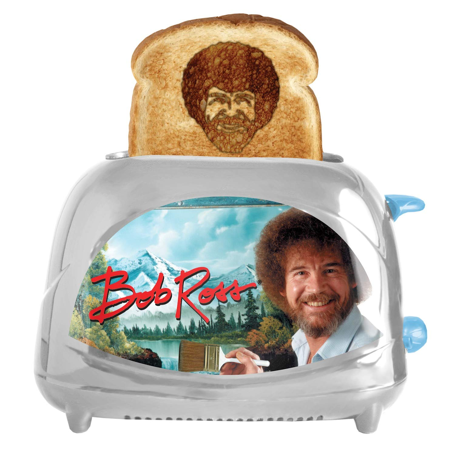 Bob Ross Toaster Toasts Bob's Iconic Face onto Your Toast