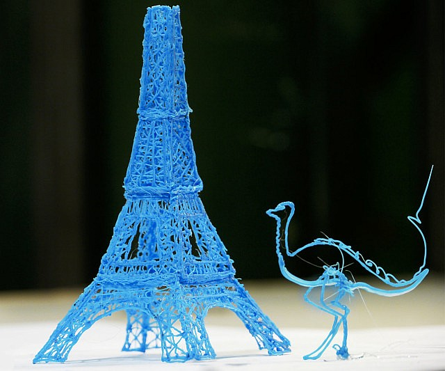 3D Printing Pen With LED Display USB Charging - GearTry