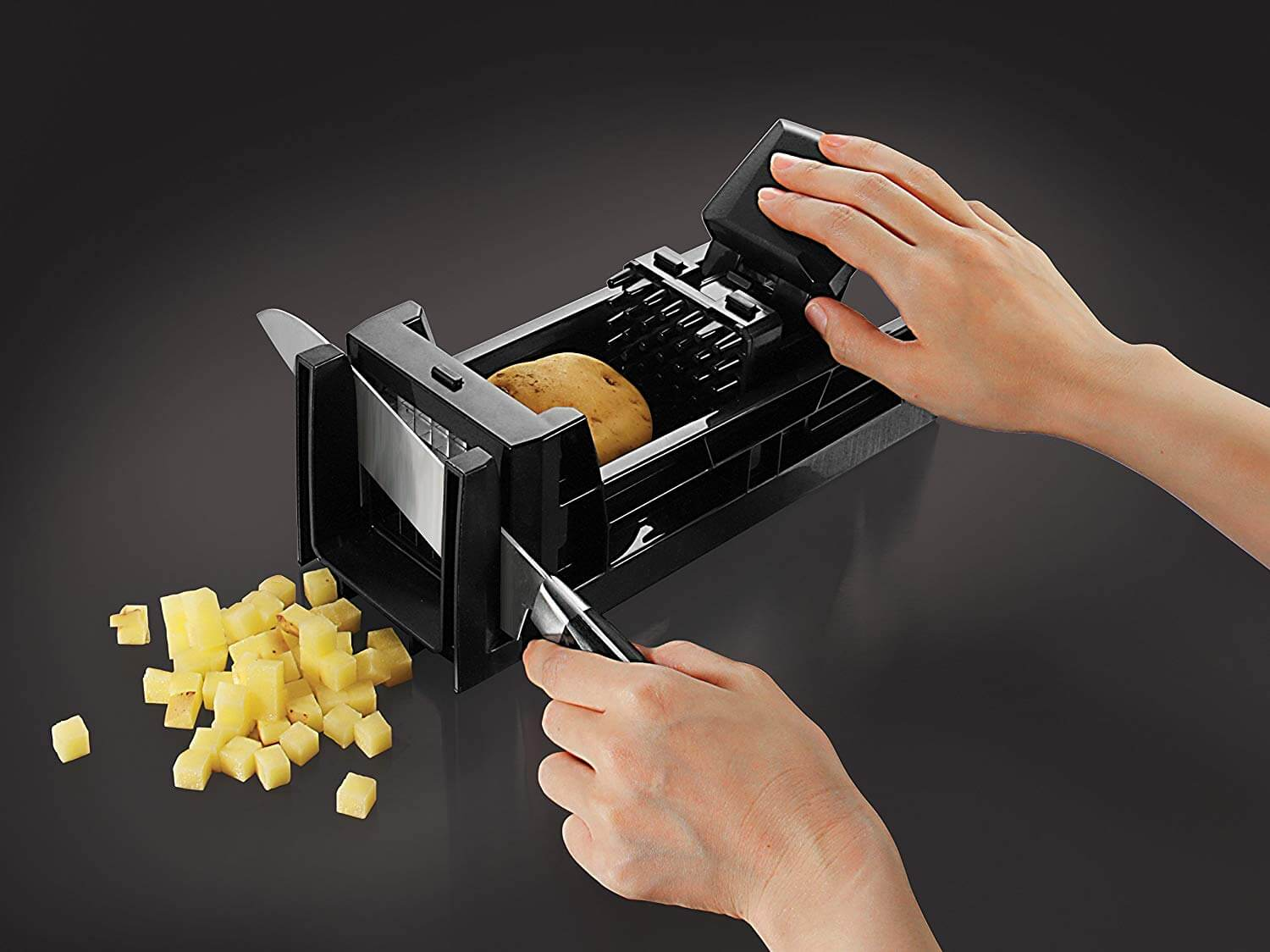 Simposh Easy Food Dicer and French Fry Cutter