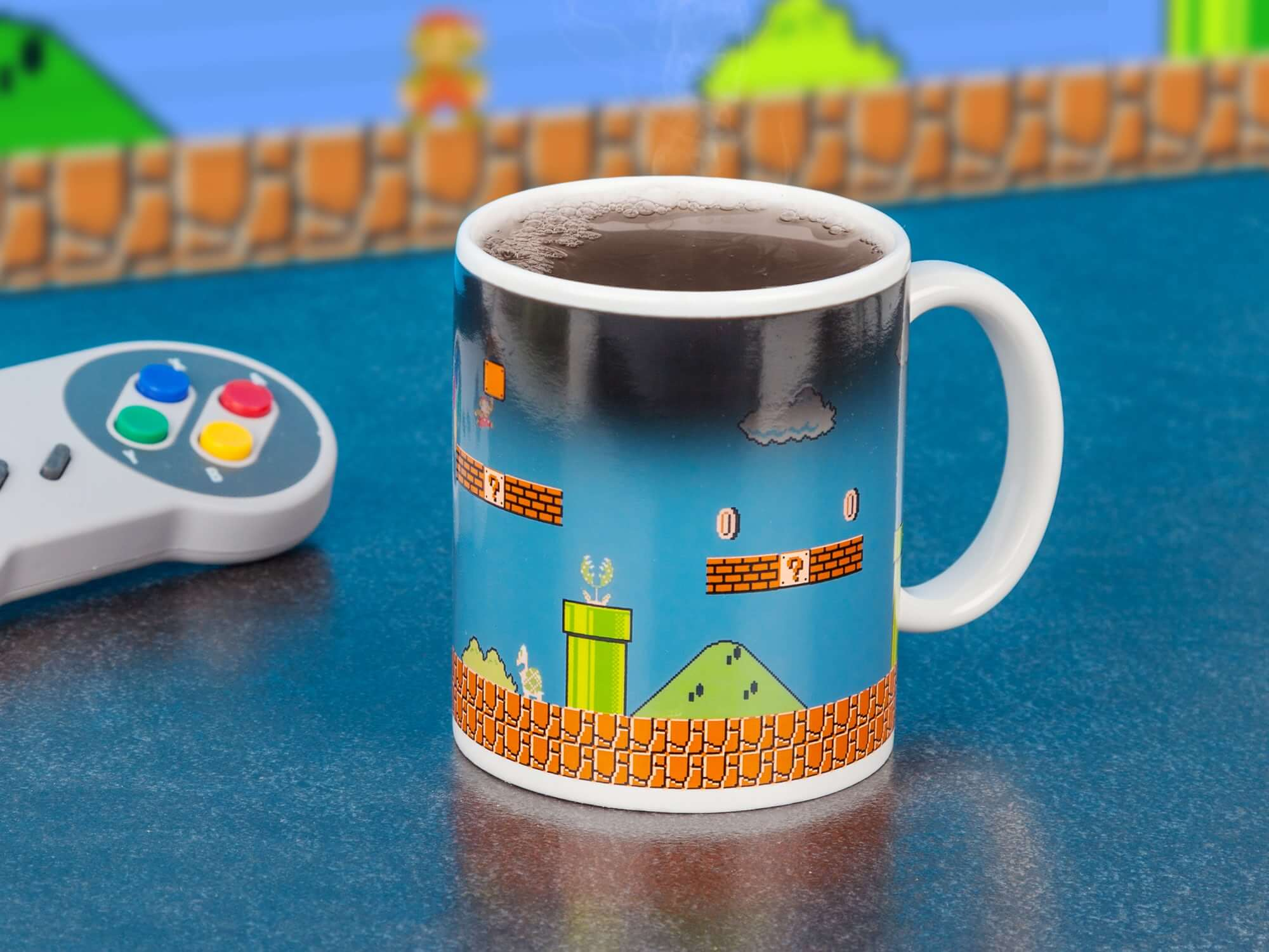 Super Mario Mug Heat SensItive Color Changing