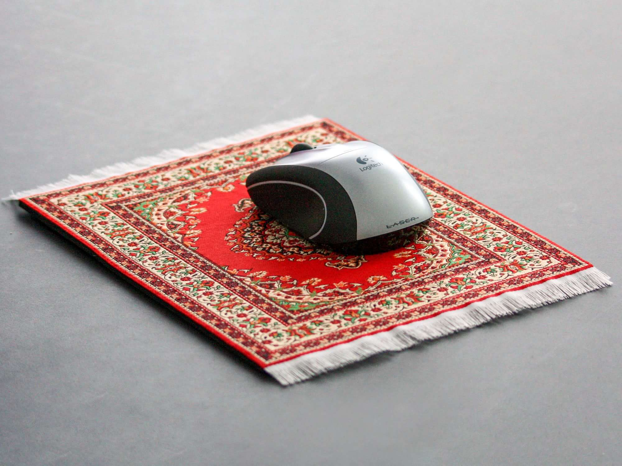 Mouse Rug 2 Pack Persian Desk Rug