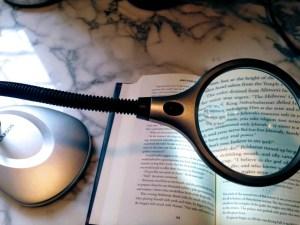 Carson Magnifier Desk Lamp