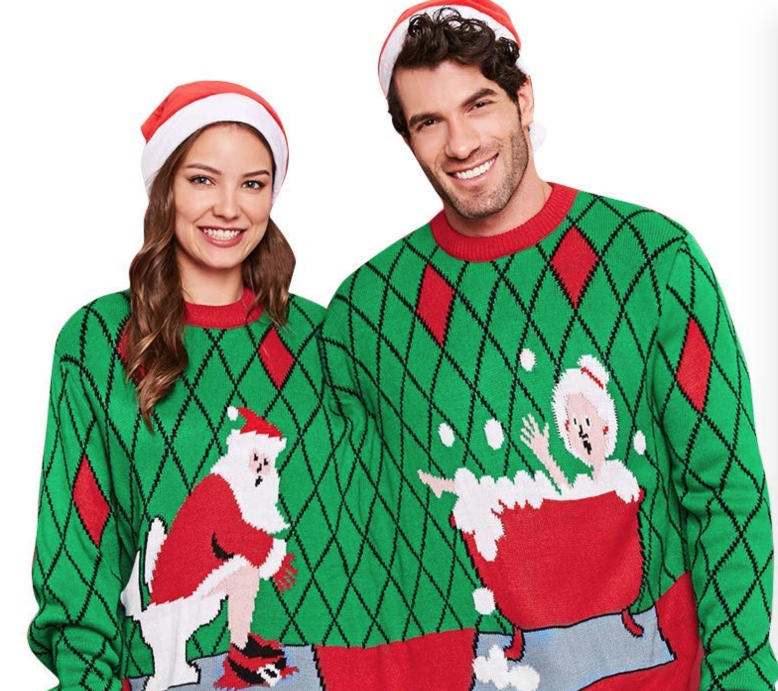 Couple Ugly Christmas Sweater
