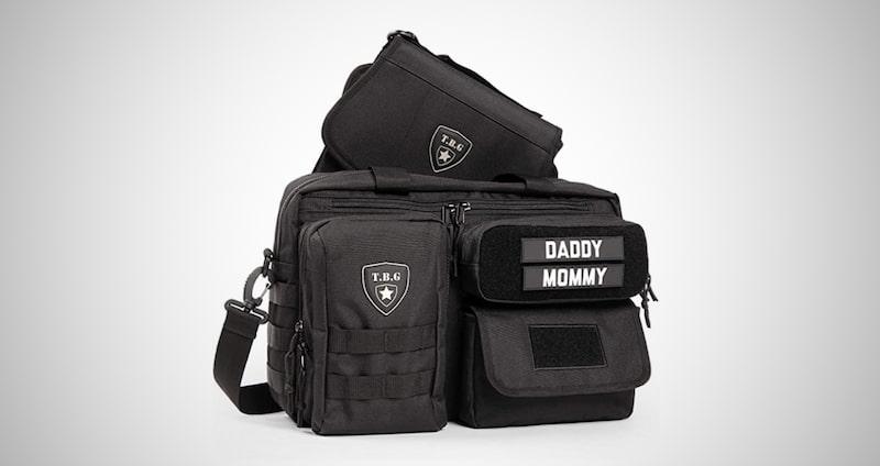 Mens Tactical Diaper Bag
