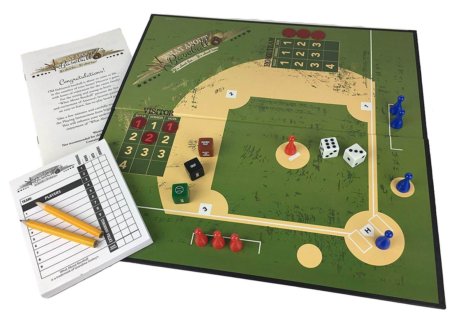 Baseball Board Game Bond With Friends Family