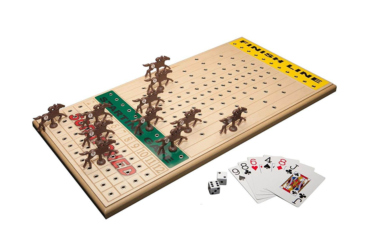 Horse Racing Board Game