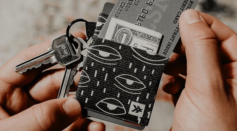 Thread Wallet Card Holder