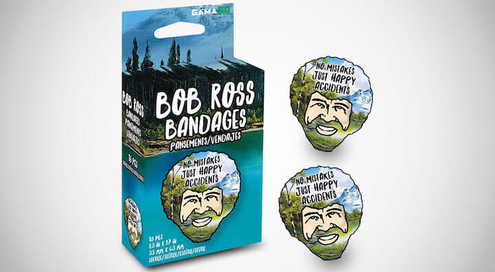 Bob Ross Adhesive Bandages