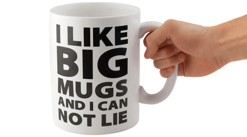 BigMouth Inc Gigantic Coffee mug