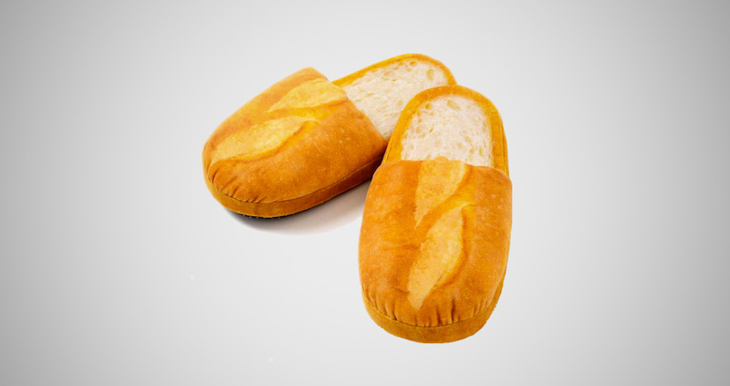 Adult Bread Slippers