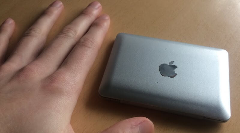 MacBook Air Mini Vanity Mirror