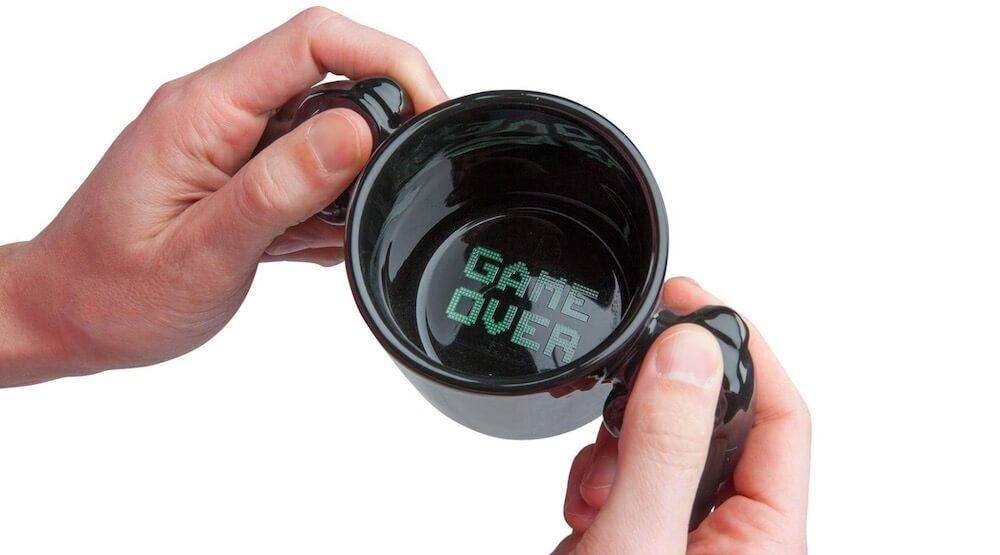 BigMouth Inc Game Over Ceramic Coffee Mug