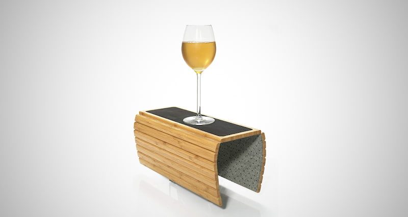 Bamboo Couch Arm Tray