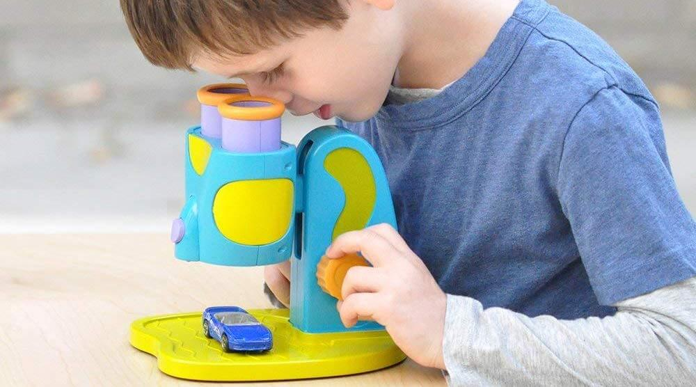 Microscope STEM Toy for Preschoolers