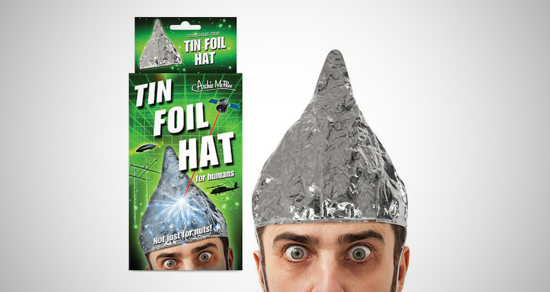 The Weird Tin Foil Hat
