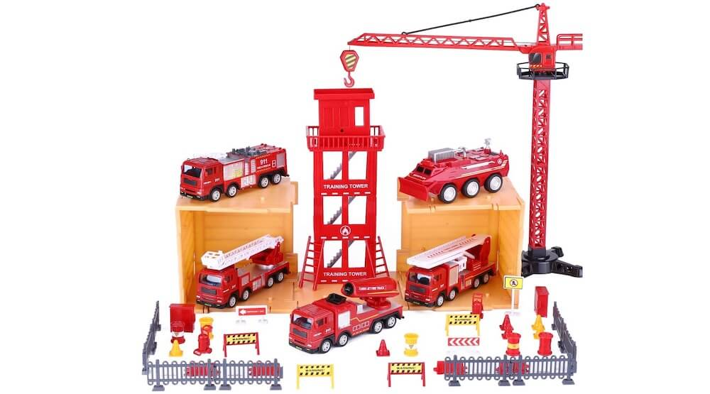 Emergency Rescue Vehicles Play Set