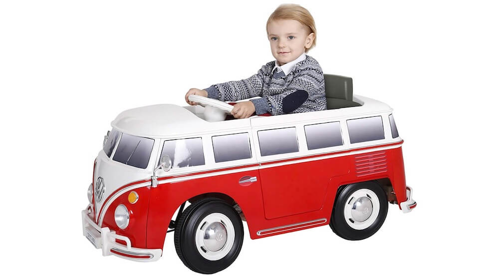 Rollplay 6 Volt VW Bus Ride On Toy