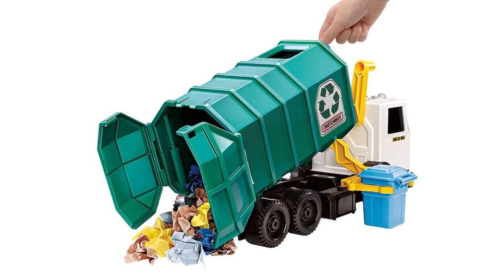 Kids 15-inch Large-Scale Recycling Truck