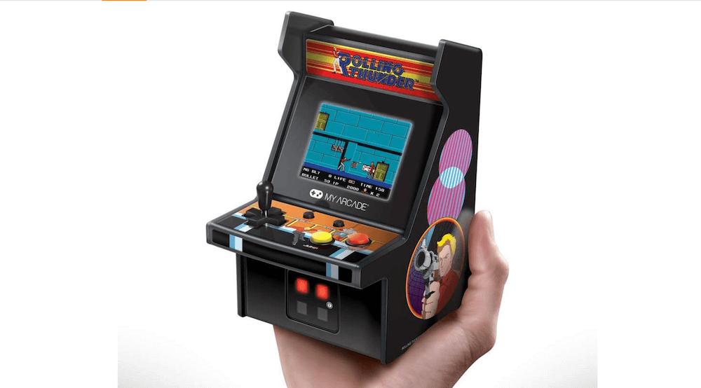 6.75 Inch Collectible Mini Arcade Machine