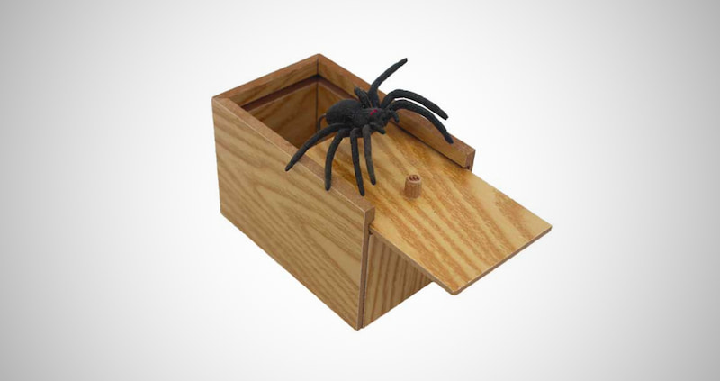 The Original Spider Prank Box