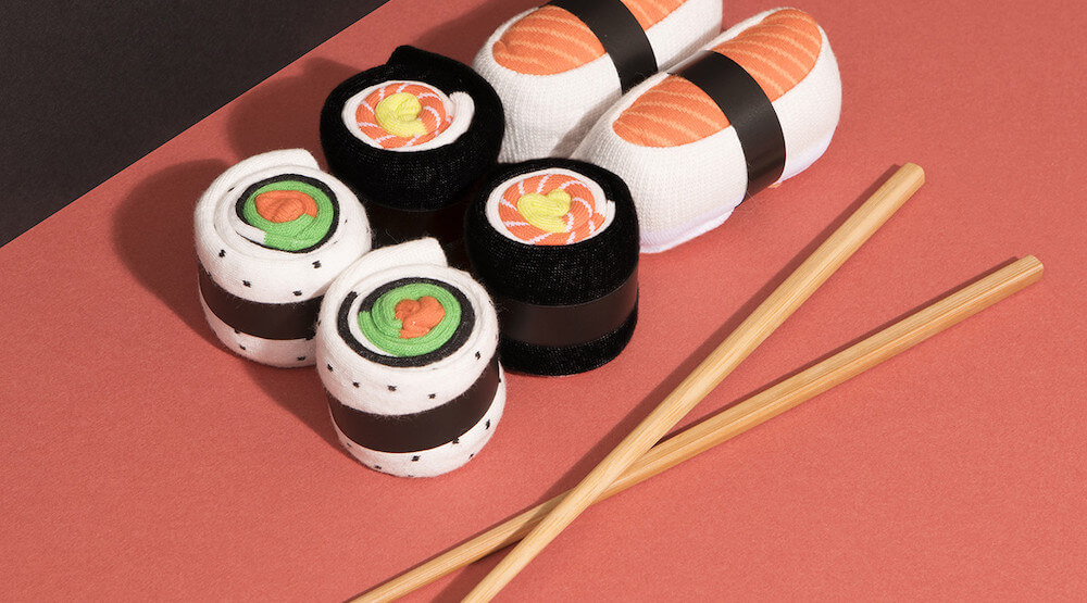 Japanese Sushi Socks Set