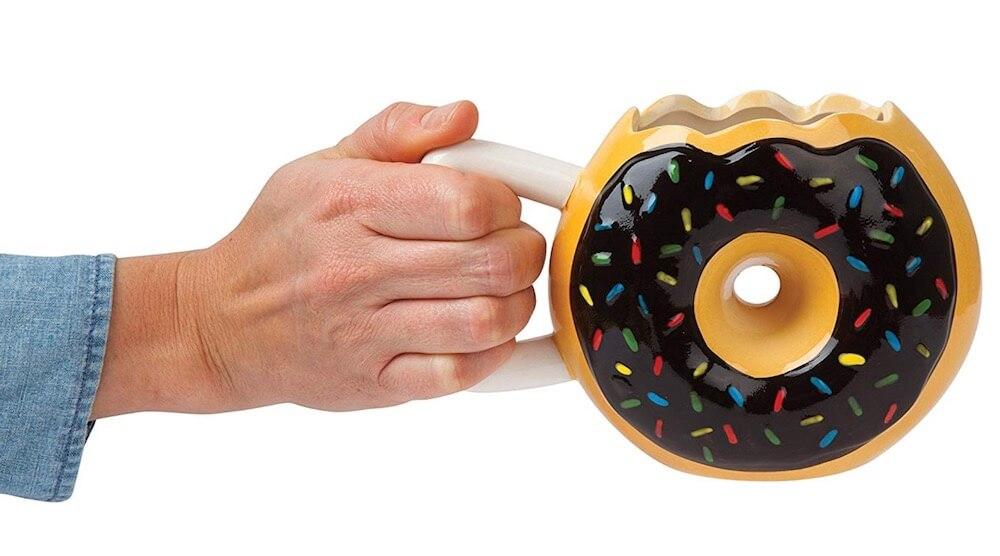 The Original Donut Coffee Mug 14oz