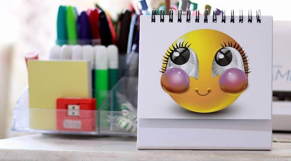 Emoji Faces Card Paper