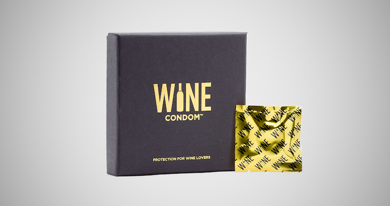 The Original Wine Condoms