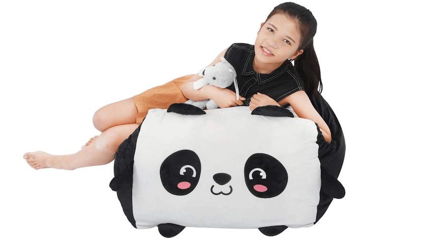 Yoweenton Stuffed Animal Bean Bag Toy Storage