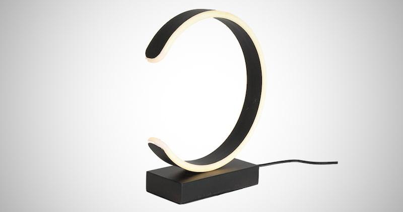 Modern C Shape Table Lamp