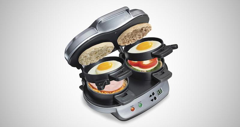 Hamilton Dual Breakfast Maker