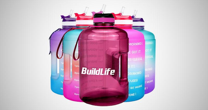 Motivational Fitness Water Bottle