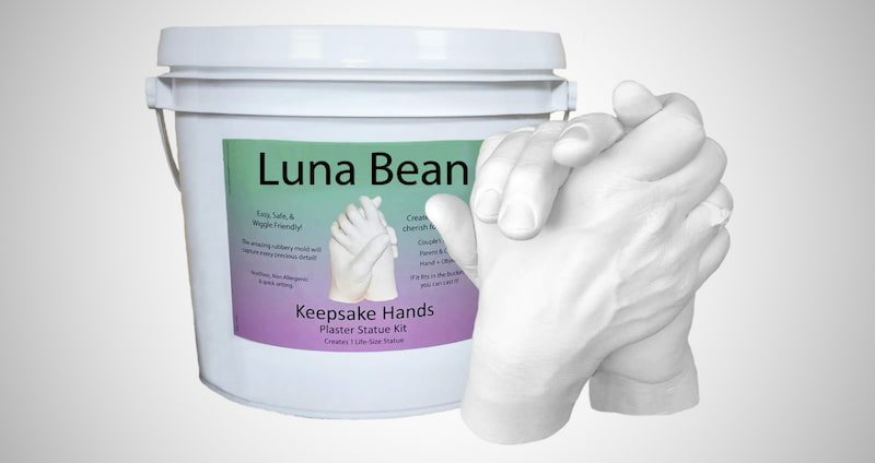 Couples Hands Casting Kit