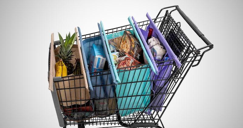 Reusable Grocery Cart Bags