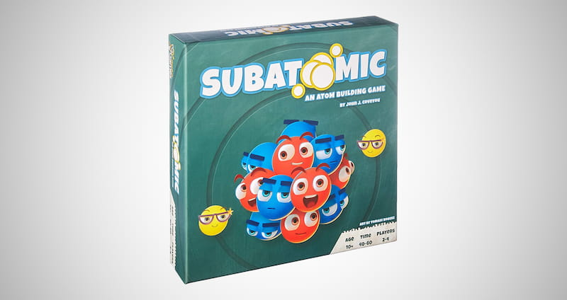 Subatomic Atom Building Game