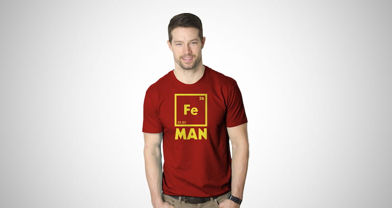 Iron Man Science T Shirt