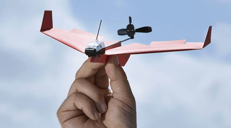 Original Smartphone Controlled Paper Airplanes