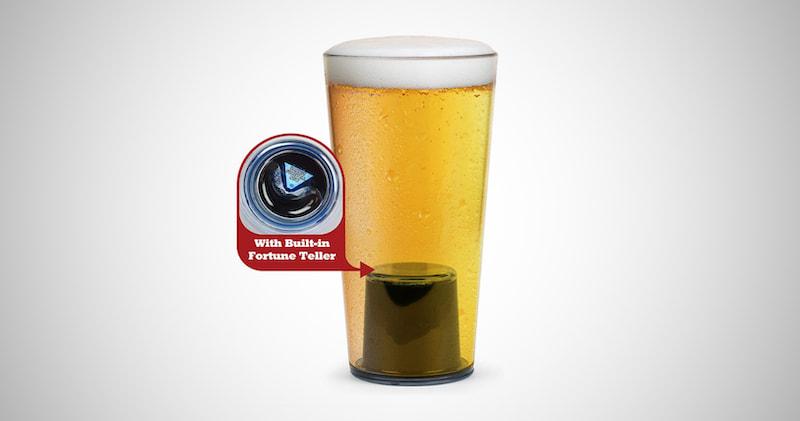 Fortune Teller Beer Pint Glass