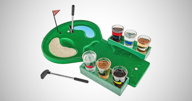 Table Golf Drinking Set