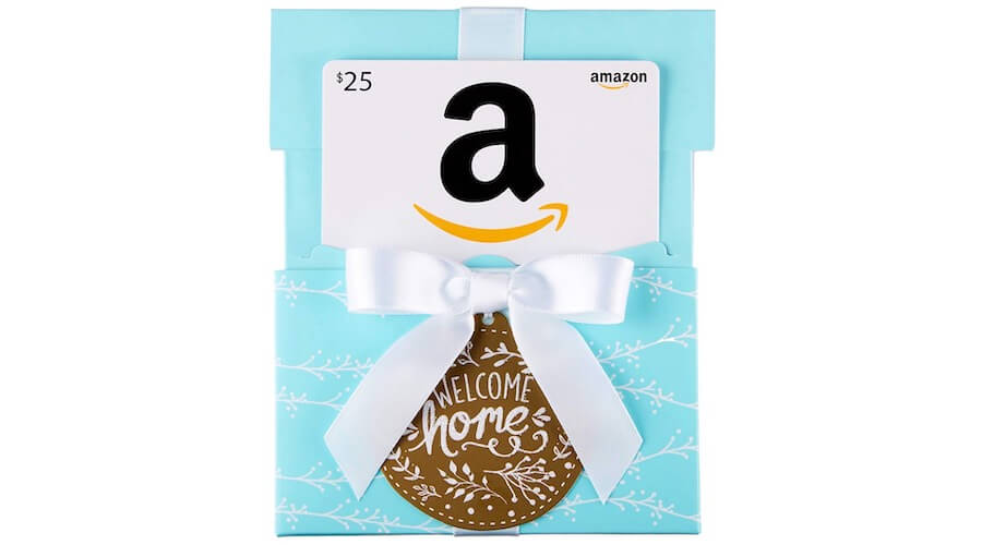 Amazon Welcome Home Gift Card