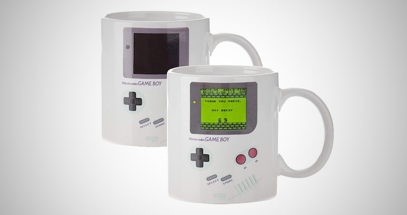 Gameboy Heat Changing Coffee Mug