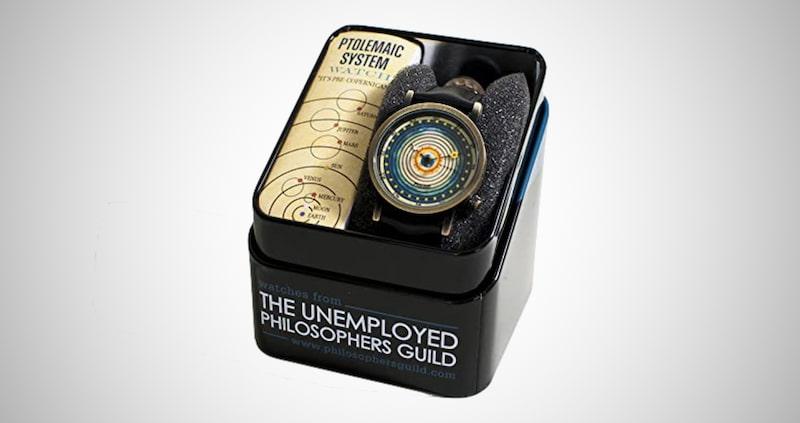 Solar System Print Quartz Wrist Watch