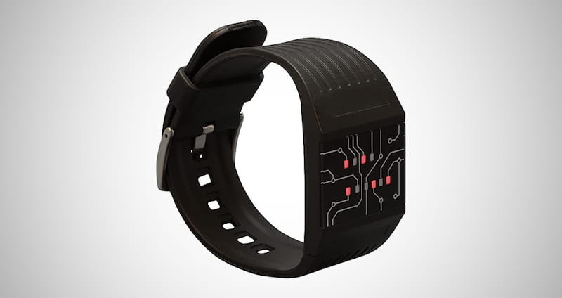 getDigital Binary Wrist Watch